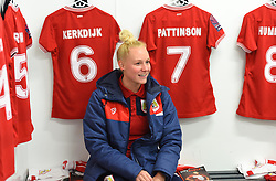 Danique Kerkdijk of Bristol City - Mandatory by-line: Paul Knight/JMP - 17/11/2018 - FOOTBALL - Stoke Gifford Stadium - Bristol, England - Bristol City Women v Liverpool Women - FA Women's Super League 1