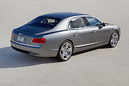 Photo of silver 2104 Bentley Flying Spur W12. Photographed in Palm Springs, CA