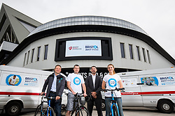 Break the Cycle partnership shoot with European City of Sport reprasentatives - Rogan Thomson/JMP - 31/05/2017 - SPORT - Ashton Gate Stadium - Bristol, England.