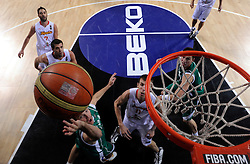 Samo Udrih of Slovenia during the fifth-place basketball match between National teams of Slovenia and Spain at 2010 FIBA World Championships on September 10, 2010 at the Sinan Erdem Dome in Istanbul, Turkey.   (Photo By Vid Ponikvar / Sportida.com)
