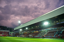 TRABZON, TURKEY - Thursday, August 26, 2010: The Huseyin Avni Aker Stadium before the UEFA Europa League Play-Off 2nd Leg match between Liverpool and Trabzonspor. (Pic by: David Rawcliffe/Propaganda)