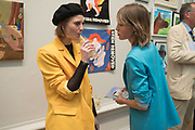 Christabel MacGreevy ; Edie Campbell, Royal Academy Summer Exhibition party. Burlington House. Piccadilly. London. 6 June 2018