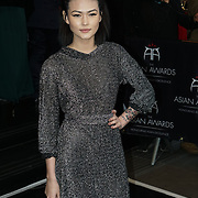 London,England,UK : 8th April 2016 : Asami Zdrenka attend the The Asian Awards 2016 at Grosvenor House Hotel, Park Lane, London. Photo by See Li