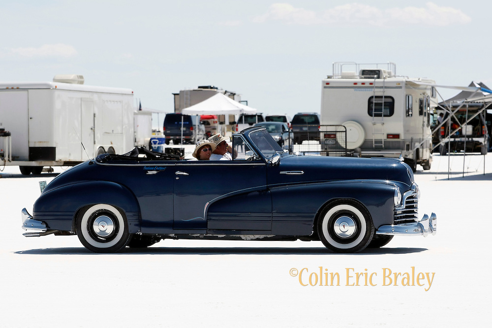 The best cars, people and atmosphere photos of 2009 Speed Week at the Bonneville Speedway in Utah. Photo by Colin E. Braley