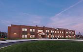 Madison's Trust Elementary School Twilight Photography