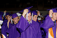 Once they finish turning the tassel, these students will change status to alumni during the Vandalia-Butler High School commencement at the BHS Student Activity Center in Vandalia, Friday, June 3, 2011.