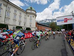 30.06.2013, Tirol, AUT, 65. Oesterreich Rundfahrt, 1. Etappe, Innsbruck - Kuehtai, im Bild Start zur Rundfahrt // during the 65th Tour of Austria, Stage 1, from Innsbruck to Kuehtai, Tyrol, Austria on 2013/06/30. EXPA Pictures © 2013, PhotoCredit: EXPA/ EXPA/ R. Eisenbauer
