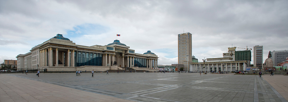 Ulaanbaatar, Mongolia, city scapes