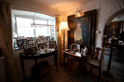 UK ENGLAND FOWEY 19FEB15 - Interior of Ferryside Cottage in Fowey, Cornwall, England, where famous English novelist Daphne Du Maurier lived. Fowey, a small fishing and harbour village was the living place of famous English writer Daphne Du Maurier and many of her novels are based here.<br /> <br /> jre/Photo by Jiri Rezac<br /> <br /> © Jiri Rezac 2015