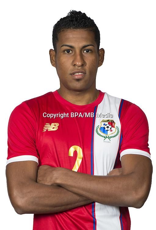 Football Conmebol_Concacaf - <br />Copa America Centenario Usa 2016 - <br />Panama National Team - Group D - <br />Miguel El&iacute;as Camargo