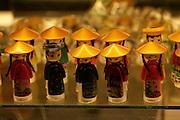 Souvenir shop at the Reunification Palace, former South Vietnamese Presidential Palace. Souvenir dolls.
