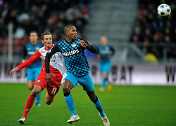 22-01-2012 VOETBAL: FC UTRECHT - PSV: UTRECHT<br /> Utrecht speelt gelijk tegen PSV 1-1 / (L-R) Alexander Gerndt, Marcelo<br /> ©2012-FotoHoogendoorn.nl