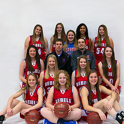 Girls High School Basket ball. Professional Sports Portraits.