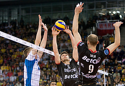 Lukasz Zygadlo of Trentino at  final match of CEV Indesit Champions League FINAL FOUR tournament between Dinamo Moscow, RUS and Trentino BetClic, ITA on May 2, 2010, at Arena Atlas, Lodz, Poland. Trentino defeated Dinamo 3-0 and became Winner of the Champions League. (Photo by Vid Ponikvar / Sportida)