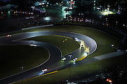 January 26-29, 2017: Rolex Daytona 24. Daytona International Speedway at night during the 55th running of the Rolex 24.