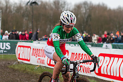 Eva Lechner (ITA), Women, Cyclo-cross World Cup Hoogerheide, The Netherlands, 25 January 2015, Photo by Pim Nijland / PelotonPhotos.com