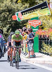 08.07.2019, Wiener Neustadt, AUT, Ö-Tour, Österreich Radrundfahrt, 2. Etappe, von Zwettl nach Wiener Neustadt (176,9 km), im Bild Andreas Graf (Hrinkow Advarics Cycleang, AUT), Sprintwertung // Andreas Graf (Hrinkow Advarics Cycleang, AUT), Sprintwertung during 2nd stage from Zwettl to Wiener Neustadt (176,9 km) of the 2019 Tour of Austria. Wiener Neustadt, Austria on 2019/07/08. EXPA Pictures © 2019, PhotoCredit: EXPA/ JFK