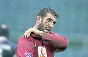 31/01/2004 Parker Pen Challenge Trophy.Bath Rugby v Beziers.Arnaud Costas...   [Mandatory Credit, Peter Spurier/ Intersport Images].