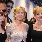NLD/Amsterdam//20140330 - Filmpremiere Lucia de B. , Shannon van de Water, Ariane Schluter en Lucia de Berk