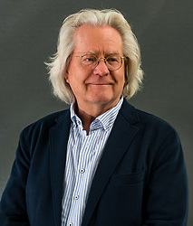 Pictured: Edinburgh International Book Festival, Edinburgh, Scotland, United Kingdom, 23 August 2019 . A C Grayling, a philosopher and author and Master of New College of the Humanities, an independent undergraduate college in London, talks about his book 'The History of Philosophy' at the book festival today.<br /> Sally Anderson | EdinburghElitemedia.co.uk