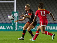 Rachael Burford in action, England Women v Canada in an Autumn International match at The Stoop, Twickenham, London, England, on 21st November 2017 Final score 49-12