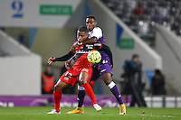 Claudio Beauvue - 20.12.2014 - Toulouse / Guingamp - 19eme journee de Ligue 1 <br />