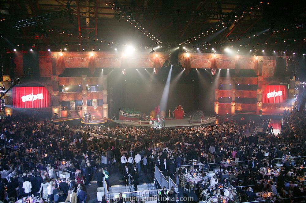 The BRIT Awards 2005, Earls Court, London. Wed 9 Feb. (photo John Marshall/JM Enternational)