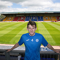 St Johnstone's new signing Blair Alston who joined in the summer from Falkirk…27.06.16<br />Picture by Graeme Hart.<br />Copyright Perthshire Picture Agency<br />Tel: 01738 623350  Mobile: 07990 594431