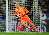 Football - 2016 / 2017 FA Cup - Fourth Round, Replay: Leicester City vs. Derby County<br /> <br /> Jonathan Mitchell of Derby at King Power Stadium.<br /> <br /> COLORSPORT/ANDREW COWIE