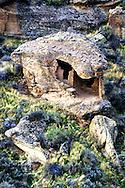 Eroded Boulder House at Hovenweep National Monument, Utah