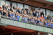 FC Halifax Town win the FA Trophy during the FA Trophy match between Grimsby Town FC and Halifax Town at Wembley Stadium, London, England on 22 May 2016. Photo by Dennis Goodwin.
