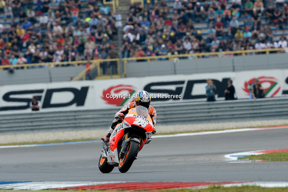 27.06.2014.  Assen, Netherlands. MotoGP. Iveco Daily TT Assen Qualifying. Dani Pedrosa during the qualifying sessions at TT Assen circuit.