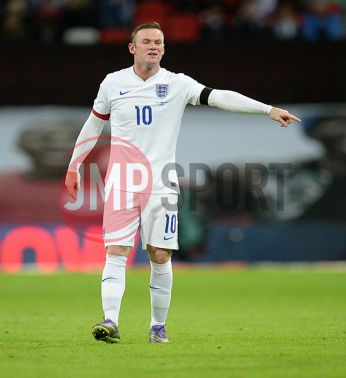 Wayne Rooney of England - Mandatory byline: Alex James/JMP - 07966 386802 - 17/11/2015 - FOOTBALL - Wembley Stadium - London, England - England v France - International Friendly