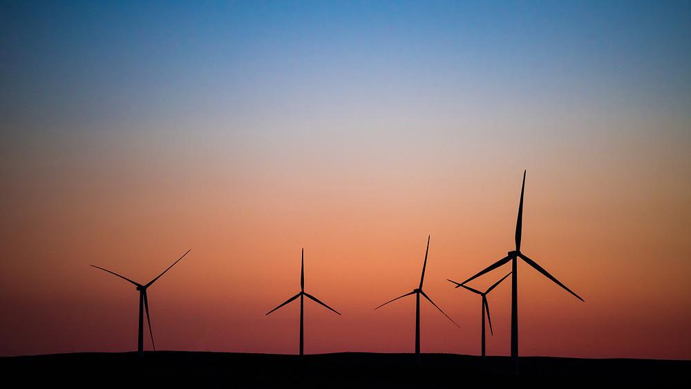 Some early morning windmills taken out of the Colorado plains.<br /> <br /> Camera <br /> NIKON D610<br /> Lens <br /> 70.0-200.0 mm f/4.0<br /> Focal Length <br /> 200<br /> Shutter Speed <br /> 1/800<br /> Aperture <br /> 4<br /> ISO <br /> 500