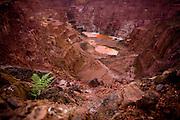 Parauapebas_PA, Brasil..Mina de ouro atualmente desativada em Paraupebas, Para...Gold mine currently disabled in Paraupebas, Para...Foto: JOAO MARCOS ROSA / NITRO.