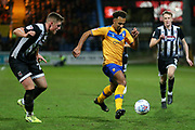 Mansfield Town forward Nicky Maynard (11)  during the EFL Sky Bet League 2 match between Mansfield Town and Grimsby Town FC at the One Call Stadium, Mansfield, England on 4 January 2020.