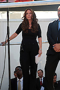 11 September 2010- New York, NY- Pamela Geller at the protests of the construction of the controversial Cordoba House, the Muslim Cultural Center to be constructed by The Park51 Group, demonstrate in lower Manhattan blocks from the World Trade Center. Many  surviving family members of victims of the 9/11 Attacks were in attendance in this hotly debated and contested area in lower Manhattan on September 11, 2010 in New York City. Photo Credit: Terrence Jennings/Sipa Press