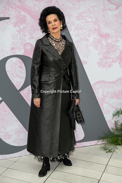 Bianca Jagger arrives at V&A - summer party, on 19 June 2019, London, UK
