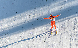 30.01.2016, Casino Arena, Seefeld, AUT, FIS Weltcup Nordische Kombination, Seefeld Triple, Skisprung, Wertungssprung, im Bild Philipp Orter (AUT) // Philipp Orter of Austria competes during his Competition Jump of Skijumping of the FIS Nordic Combined World Cup Seefeld Triple at the Casino Arena in Seefeld, Austria on 2016/01/30. EXPA Pictures © 2016, PhotoCredit: EXPA/ JFK