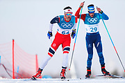 PYEONGCHANG-GUN, SOUTH KOREA - FEBRUARY 16: Christer Holund Hans of Norway during the mens Cross Country 15k free technique at Alpensia Cross-Country Centre on February 16, 2018 in Pyeongchang-gun, South Korea. Photo by Nils Petter Nilsson/Ombrello               ***BETALBILD***