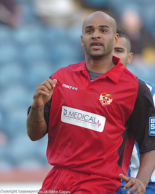 Leon McKenzie, Kettering Town, Stockport County v Kettering Town, Blue Square Premier, Edgeley Park Stockport,<br /> Tuesday 16th August 2011
