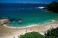 Beach at Sheraton Hotel.Rio de Janeiro.Brazil