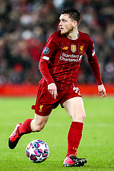 Andrew Robertson of Liverpool - Mandatory by-line: Robbie Stephenson/JMP - 11/03/2020 - FOOTBALL - Anfield - Liverpool, England - Liverpool v Atletico Madrid - UEFA Champions League Round of 16, 2nd Leg