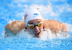 Alys Thomas competes in the Women's Open 200m Butterfly during day three of the 2017 British Swimming Championships at Ponds Forge, Sheffield.