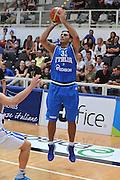 TRENTO, 25/07/2012<br /> TRENTINO BASKET CUP 2012<br /> ITALIA - FINLANDIA<br /> NELLA FOTO: PIETRO ARADORI<br /> FOTO CIAMILLO