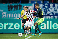 Onderwerp/Subject: Eredivisie<br /> Reklame:  <br /> Club/Team/Country: <br /> Seizoen/Season: 2012/2013<br /> FOTO/PHOTO: Sofian AKOUILI (UP) of Willem II in duel with Ricardo VAN RHIJN (RIGHT) of Ajax. (Photo by PICS UNITED)<br /> <br /> Trefwoorden/Keywords: <br /> #04 $94 ±1342782825903<br /> Photo- & Copyrights © PICS UNITED <br /> P.O. Box 7164 - 5605 BE  EINDHOVEN (THE NETHERLANDS) <br /> Phone +31 (0)40 296 28 00 <br /> Fax +31 (0) 40 248 47 43 <br /> http://www.pics-united.com <br /> e-mail : sales@pics-united.com (If you would like to raise any issues regarding any aspects of products / service of PICS UNITED) or <br /> e-mail : sales@pics-united.com   <br /> <br /> ATTENTIE: <br /> Publicatie ook bij aanbieding door derden is slechts toegestaan na verkregen toestemming van Pics United. <br /> VOLLEDIGE NAAMSVERMELDING IS VERPLICHT! (© PICS UNITED/Naam Fotograaf, zie veld 4 van de bestandsinfo 'credits') <br /> ATTENTION:  <br /> © Pics United. Reproduction/publication of this photo by any parties is only permitted after authorisation is sought and obtained from  PICS UNITED- THE NETHERLANDS