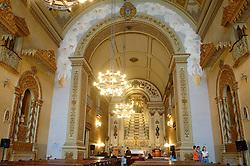 A Igreja de Nossa Senhora das Dores, da cidade de Porto Alegre, no Rio Grande do Sul, começou a ser construída em 1833 e levou aproximadamente 97 anos para ser concluída. Sua fachada ostenta linhas arquitetônicas do barroco português associado ao estilo alemão. FOTO: Alfonso Abraham/Preview.com