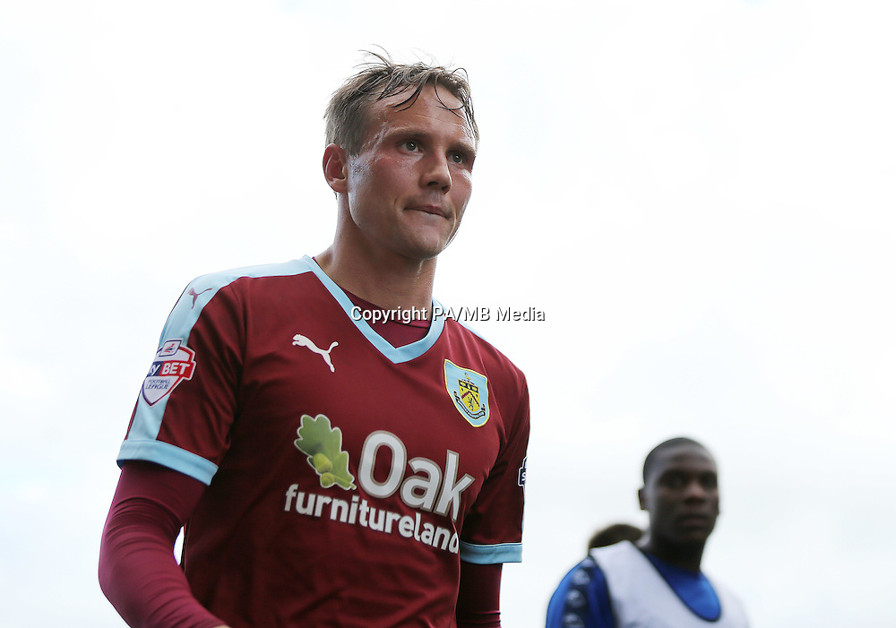 Burnley's 2nd goal scorer Matthew Taylor at the end of the game against Sheffield Wednesday