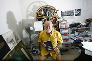 Herzl Lifshitz, (Aged 87). An Astrologer who predicted major events in the history of Israel, and published 2 books still working today from his apartment in Tel Aviv.