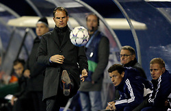 18.10.2011, Stadion Maksimir, Zagreb, CRO, UEFA CL, Gruppe D, Dinamo Zagreb (CRO) vs Ajax Amsterdam (NED), im Bild  Frank De Boer // during UEFA Champions League group D match between Dinamo Zagreb (CRO) and Ajax Amsterdam (NED)) at Maksimir Stadium, Zagreb, Croatia on 18/10/2011. .EXPA Pictures © 2011, PhotoCredit: EXPA/ nph/ PIXSELL  **** only for AUT       ****** out of GER / CRO  / BEL ******